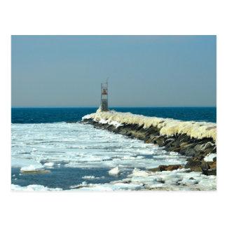 Kalter Winter Postkarte