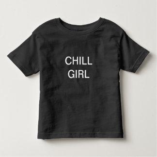 Kaltes Mädchen-Shirt Kleinkind T-shirt