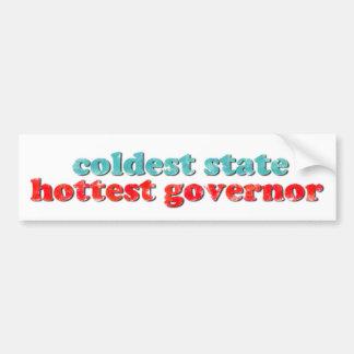 Kältester Staat, heißester Autoaufkleber