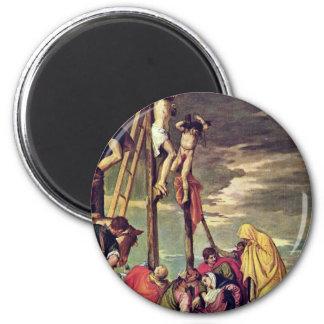 Kalvarienberg durch Veronese Paolo (beste Qualität Magnete