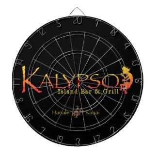 Kalypso buntes Logo mit Dartscheibe