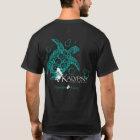 Kalypso hawaiische Insel-vordere T-Shirt