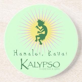 Kalypso Kane gelber Sonnendurchbruch Untersatz