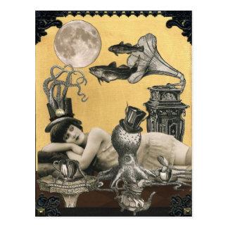 Kalypso Steampunk Postkarte