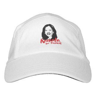 Kamala für Präsidenten - Kalligraphie - Headsweats Kappe