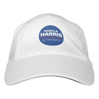 Kamala Harris für Präsidenten - Aufkleberblau - Headsweats Kappe