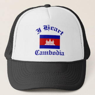 Kambodscha-Entwurf Truckerkappe