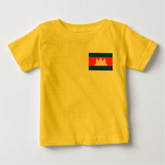 Kambodscha-Flagge Baby T-shirt