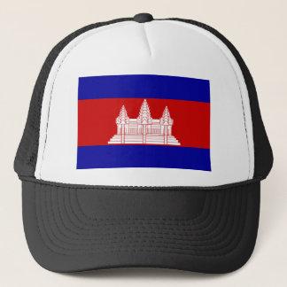 Kambodscha-Flagge KH Truckerkappe