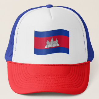 Kambodscha-Flagge Truckerkappe