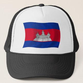Kambodscha-Flaggen-Hut Truckerkappe