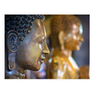 Kambodscha, Phnom Penh. Buddha-Statuen Postkarte