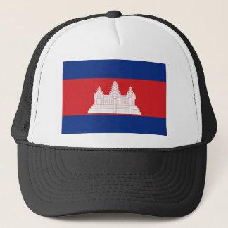 Kambodscha-Staatsflagge Truckerkappe