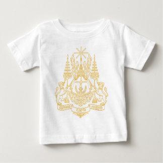 Kambodscha-Wappen Baby T-shirt