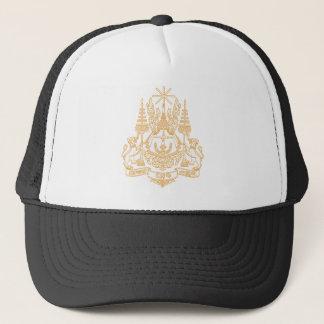 Kambodscha-Wappen Hut Truckerkappe