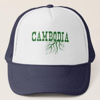 Kambodscha-Wurzeln Truckerkappe