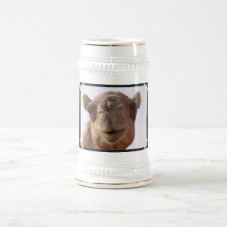 Kamel-Bier Stein Bierglas