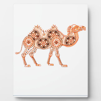 Kamel Fotoplatte