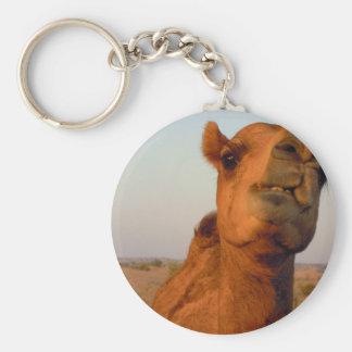 Kamel in Wüste 2 Schlüsselanhänger