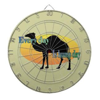 Kamel - jeder Tag ist Buckel-Tag Dartscheibe