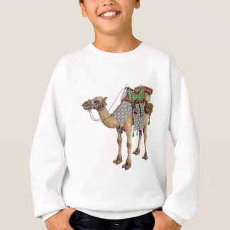 Kamel vorbereitet für alten Reiter Sweatshirt