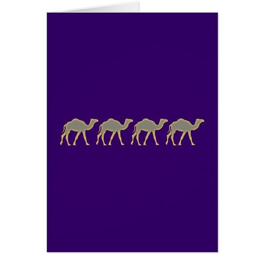 Kamele camels karte