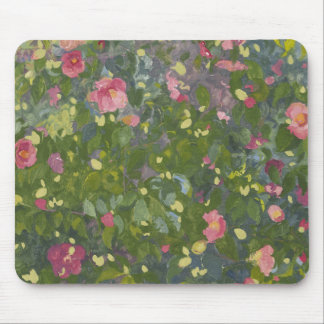 Kamelie in Blume 2014 Mousepad