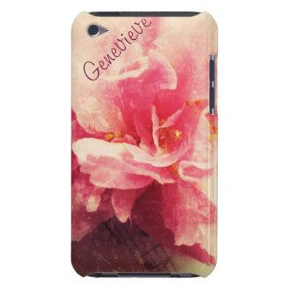 Kamelien-Blume mit Musikipod-Touchfall iPod Touch Cover