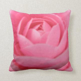 Kamelien-rosa Kissen