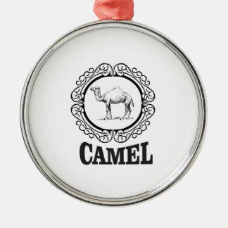 Kamellogokunst Silbernes Ornament