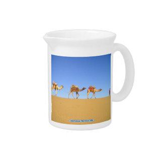 Kamelwohnwagen, Thar-Wüste, Indien Getränke Pitcher