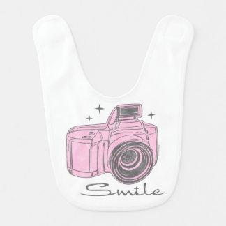 Kamera-Lächeln Lätzchen