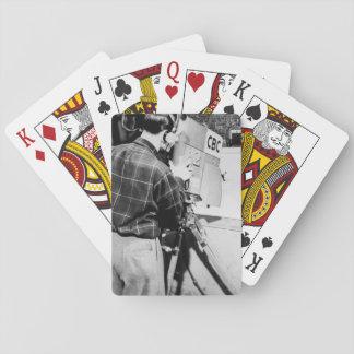 Kamera-Techniker Spielkarten