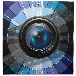 Kameraobjektiv Serviette