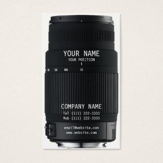 Kameraobjektiv Visitenkarte