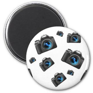 Kameras Runder Magnet 5,7 Cm