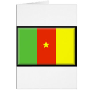 Kamerun-Dateien Karte