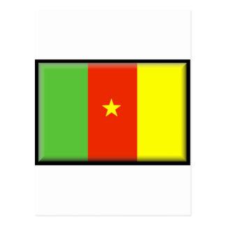 Kamerun-Dateien Postkarte