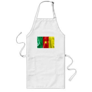 Kamerun-Flagge Lange Schürze