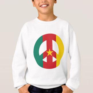 KAMERUN-FRIEDENSsymbol Sweatshirt