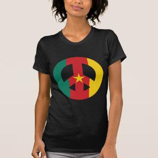 KAMERUN-FRIEDENSsymbol T-Shirt