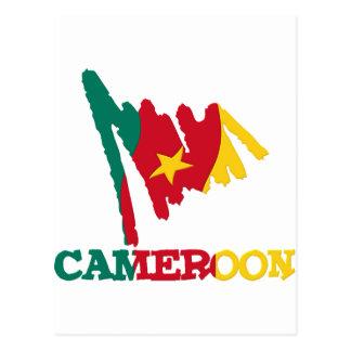 Kamerun-gute Sachen 1 Postkarte