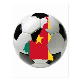 Kamerun-Nationalmannschaft Postkarte