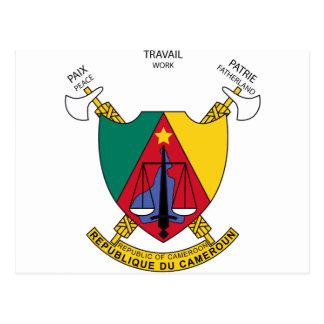 Kamerun-Wappen cm Postkarte
