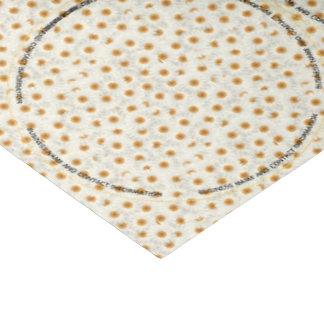 Kamillen-Blumen-Glas-Deckel Seidenpapier