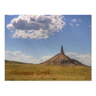 Kamin-Felsen, Nebraska-Postkarte Postkarte