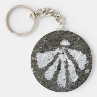 Kamm-Muschel-Muschel Keychain Schlüsselanhänger