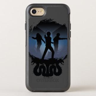 Kammer Harry Potter | der Geheimnis-Silhouette OtterBox Symmetry iPhone 8/7 Hülle