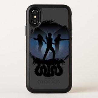 Kammer Harry Potter | der Geheimnis-Silhouette OtterBox Symmetry iPhone X Hülle