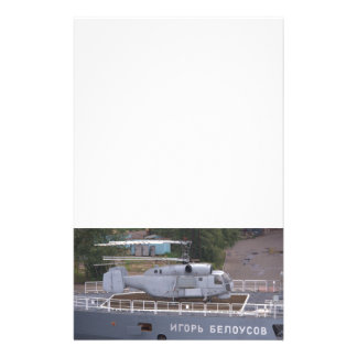 Kamov KA27 Russe-Hubschrauber Briefpapier